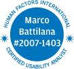 Human Factors International - Marco Battilana (Number 2007-1403)
